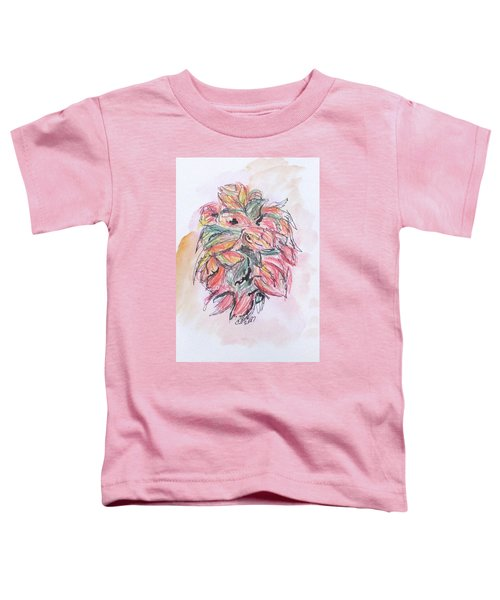Colored Pencil Flowers Toddler T-Shirt