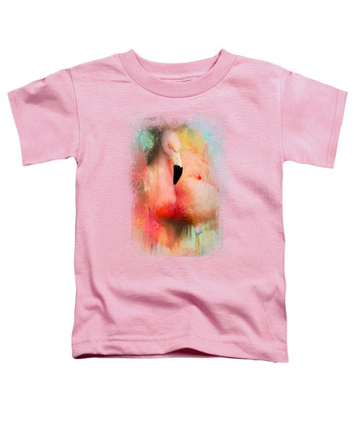 Colorful Expressions Flamingo Toddler T-Shirt