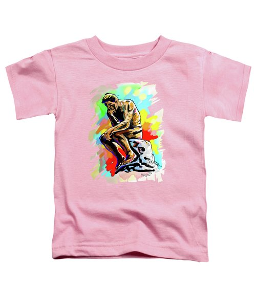 Colorful Thinker Toddler T-Shirt
