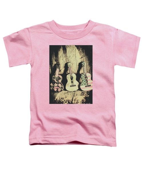 Country And Western Saloon Songs Toddler T-Shirt