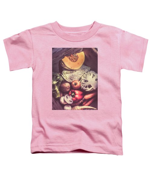 Country Style Foods Toddler T-Shirt by Jorgo Photography - Wall Art Gallery