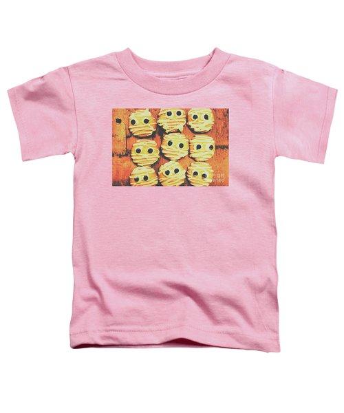 Creepy And Kooky Mummified Cookies  Toddler T-Shirt