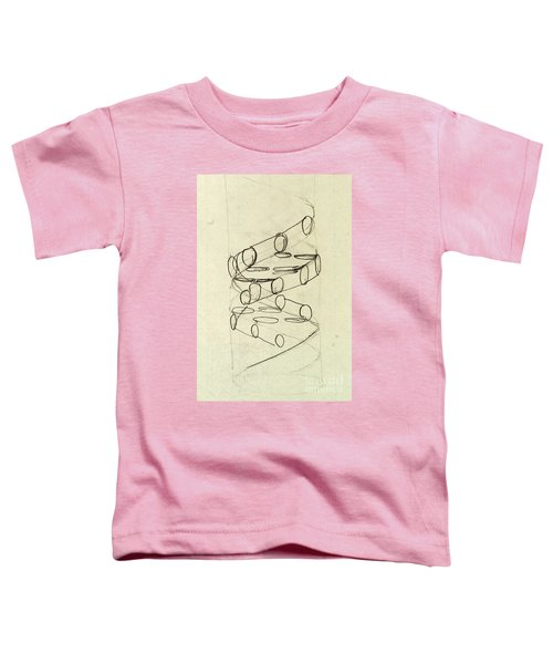 Cricks Original Dna Sketch Toddler T-Shirt