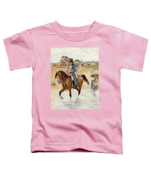 Crossing The Brook Toddler T-Shirt