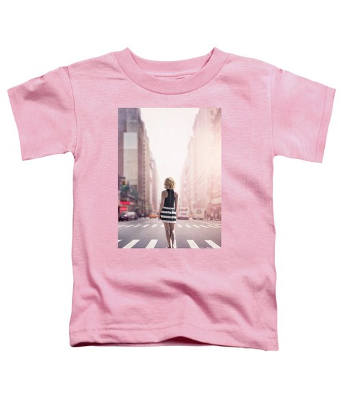 Crosstown Swing Toddler T-Shirt