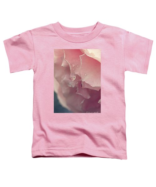 Crying In The Rain Toddler T-Shirt by Linda Lees