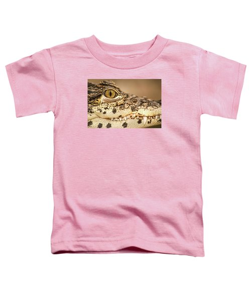 Cuban Croc Smile Toddler T-Shirt