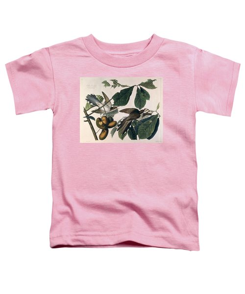 Cuckoo Toddler T-Shirt by John James Audubon