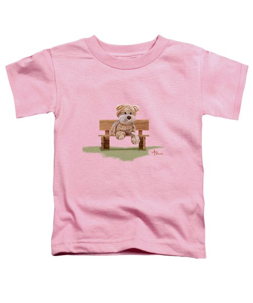 Cuddly At The Park Toddler T-Shirt