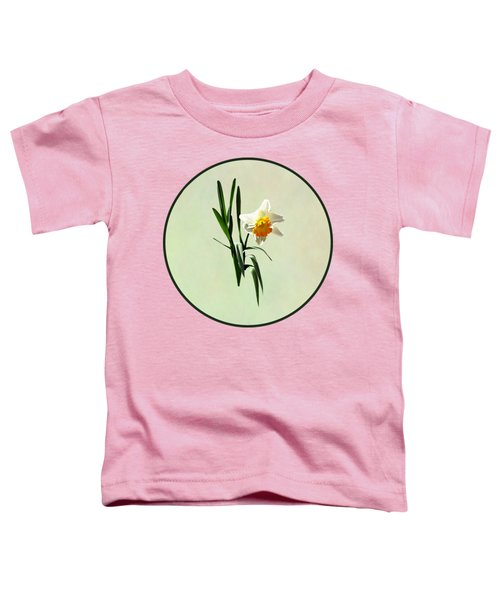 Daffodil Taking A Bow Toddler T-Shirt