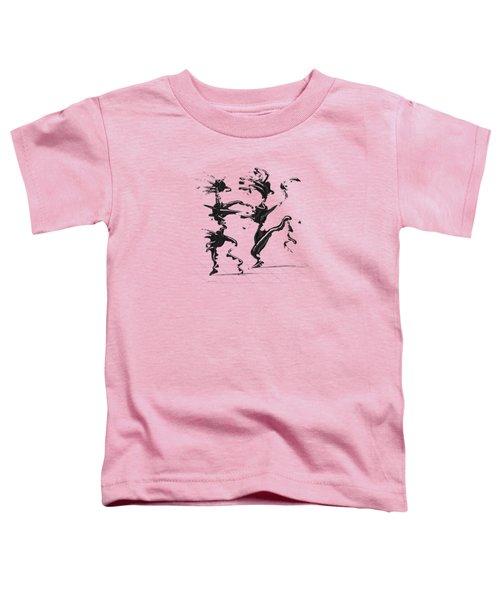 Dancing Couple 4 Toddler T-Shirt