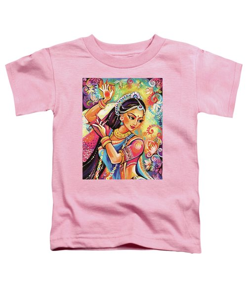 Dancing Of The Phoenix Toddler T-Shirt by Eva Campbell
