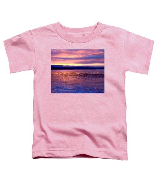 Dawn Patrol Toddler T-Shirt by Lora Lee Chapman
