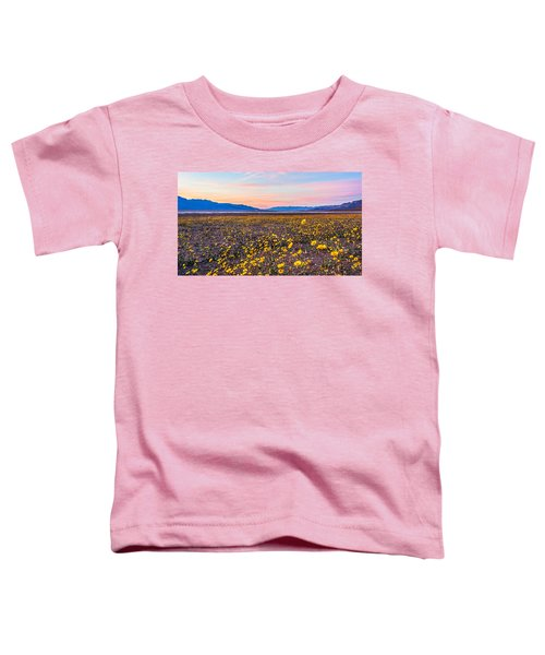 Death Valley Sunset Toddler T-Shirt