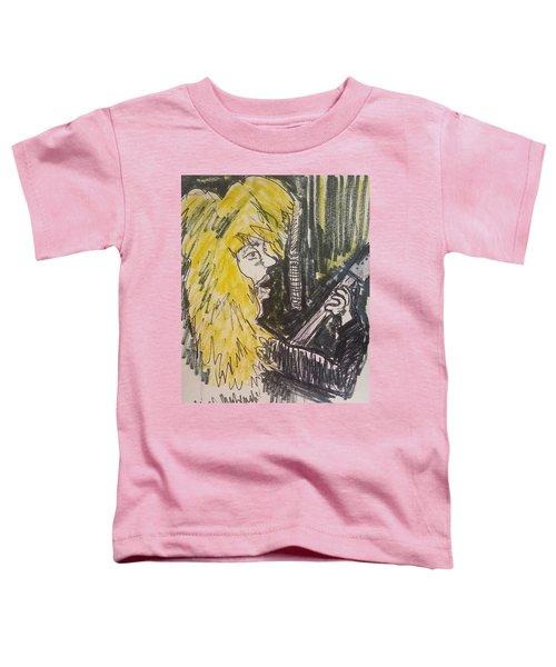 Def Leppard Love Bites Toddler T-Shirt by Geraldine Myszenski
