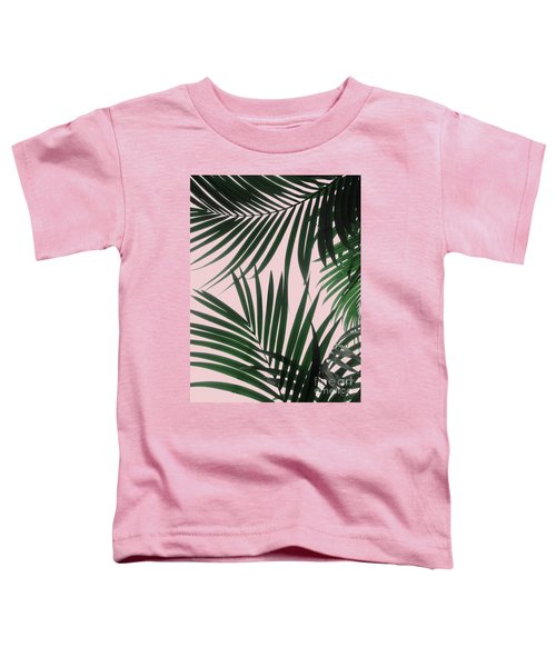 Delicate Jungle Theme Toddler T-Shirt