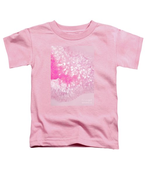 Delicate Pink Agate Toddler T-Shirt