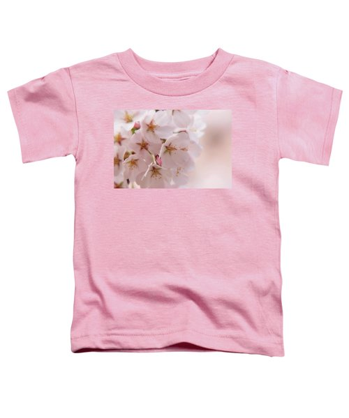 Delicate Spring Blooms Toddler T-Shirt