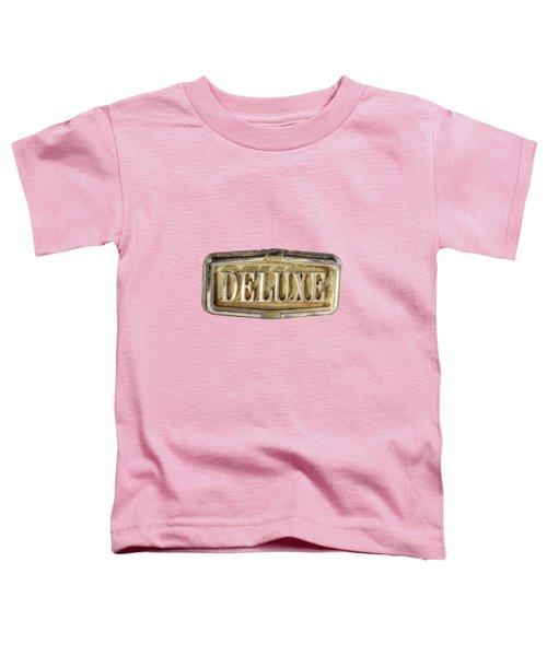 Deluxe Chrome Emblem Toddler T-Shirt