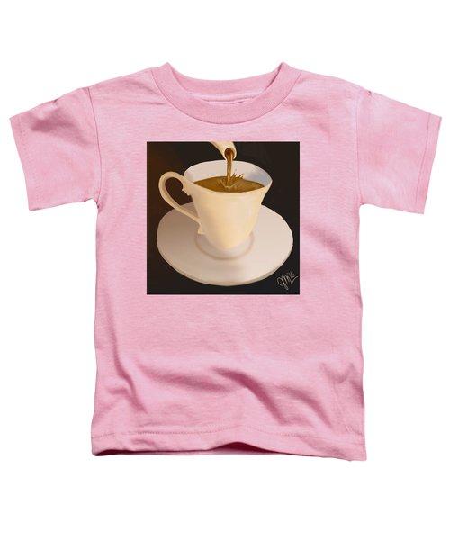 Toddler T-Shirt featuring the digital art Demi by Gerry Morgan
