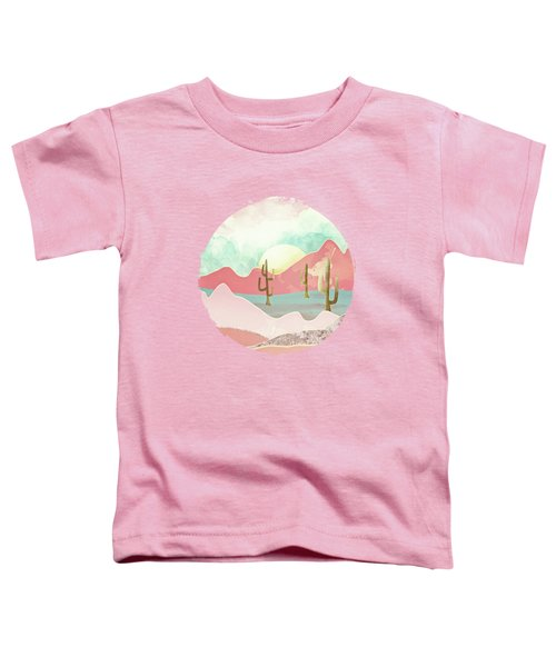 Desert Mountains Toddler T-Shirt by Spacefrog Designs