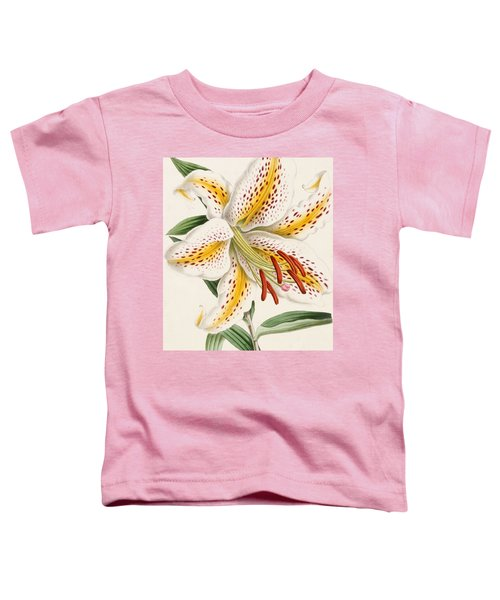 Detail Of A Lily Toddler T-Shirt