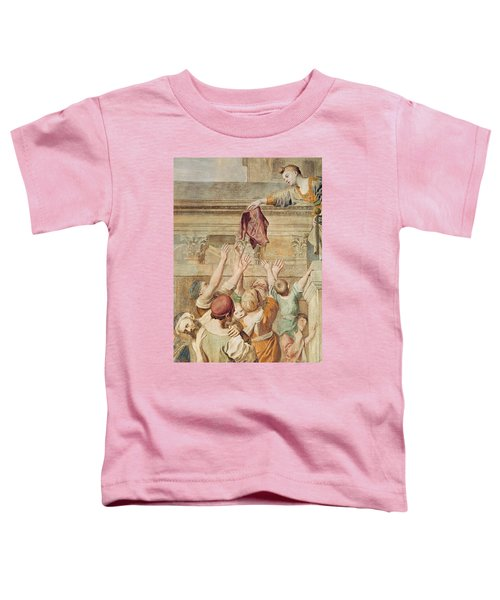 Detail Of Saint Cecilia Distributing Alms Toddler T-Shirt