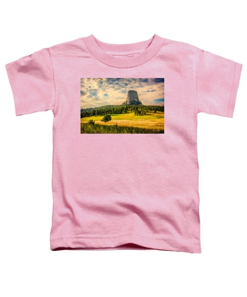 Devil's Tower - The Other Side Toddler T-Shirt