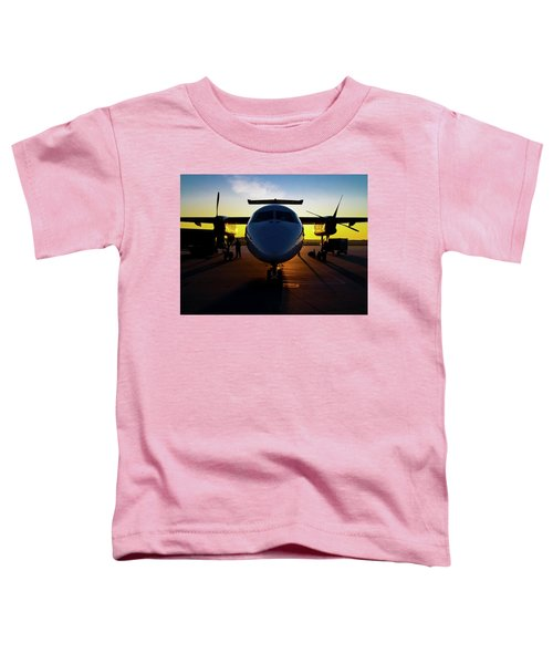 Dhc-8-300 Refueling Toddler T-Shirt