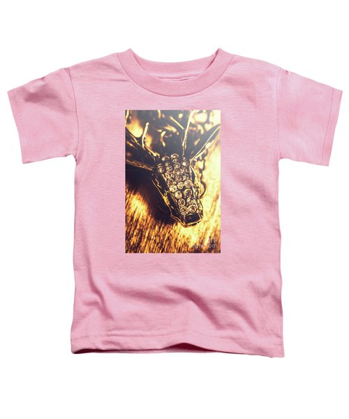 Diamond Encrusted Wildlife Bracelet Toddler T-Shirt