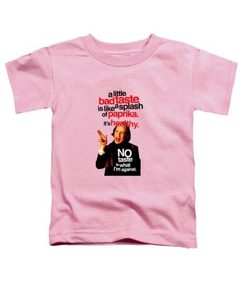 Diana Vreeland On Taste Toddler T-Shirt