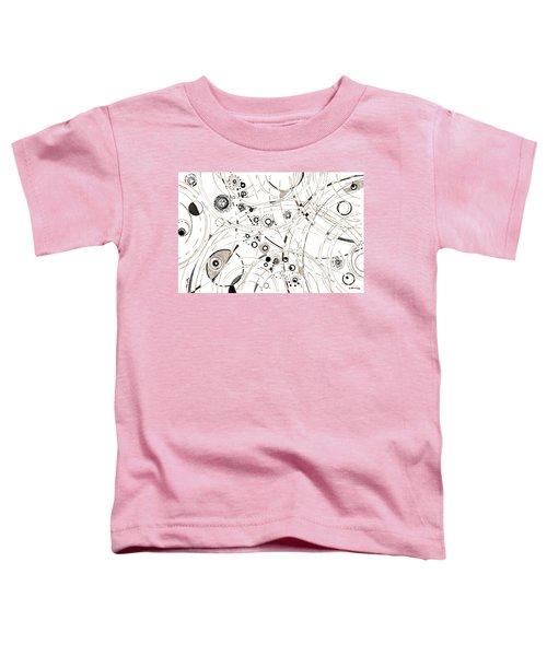 Diffracting Around Toddler T-Shirt