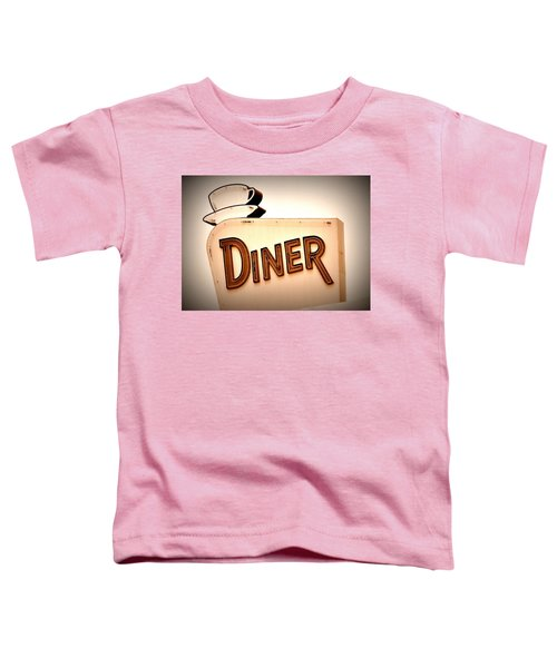 Toddler T-Shirt featuring the photograph Diner by Andrea Platt