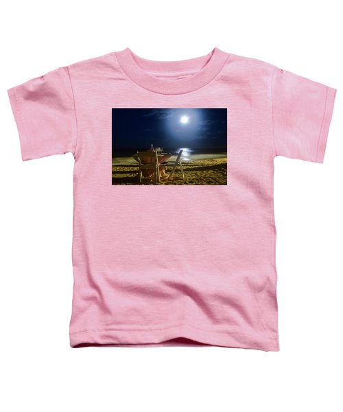 Dinner For Two In The Moonlight Toddler T-Shirt