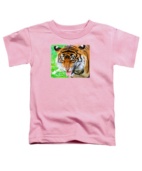 Disgusted Tiger Toddler T-Shirt