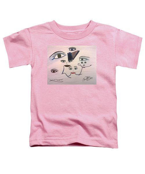 Distinct Perception Toddler T-Shirt