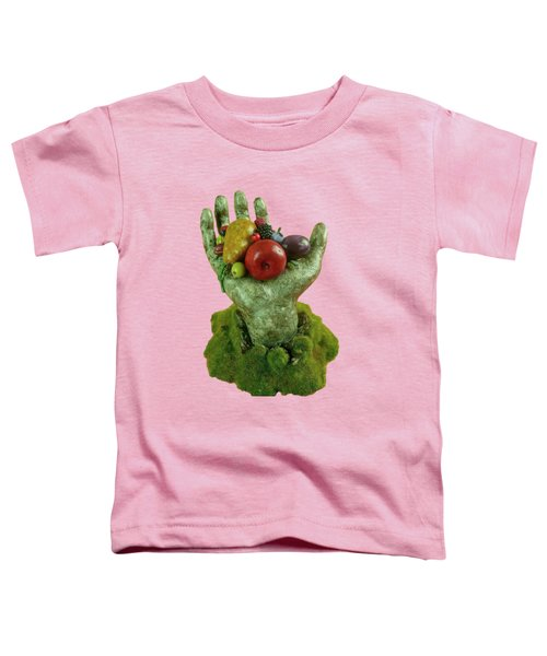 Divine Nutrition Toddler T-Shirt by Przemyslaw Stanuch