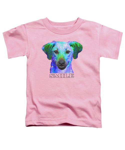 Doggy Smile Toddler T-Shirt