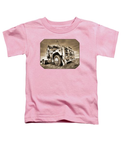 Done Hauling - Sepia Toddler T-Shirt