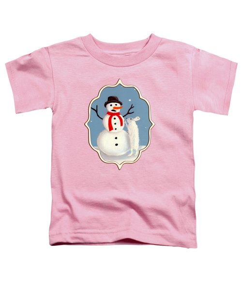 Toddler T-Shirt featuring the painting Don't Eat My Nose by Anastasiya Malakhova