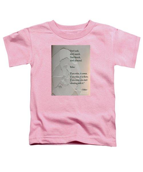 Don't Seek Toddler T-Shirt