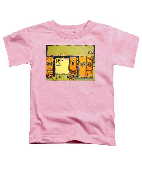 Double Door Power Play Toddler T-Shirt