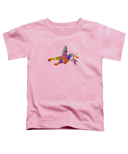 Dove With Olive Branch Toddler T-Shirt