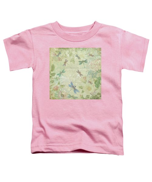 Dragonfly Dream Toddler T-Shirt