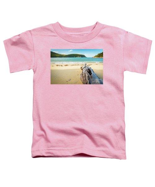 Driftwood On Beach Toddler T-Shirt