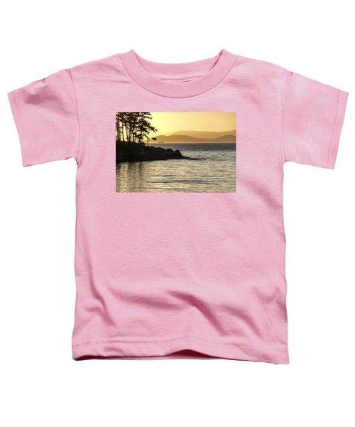 Dusk On Sucia Island Toddler T-Shirt
