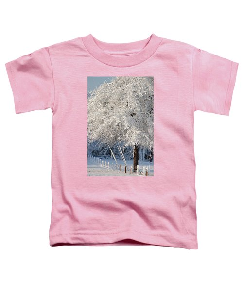 Dusted With Powdered Sugar Toddler T-Shirt