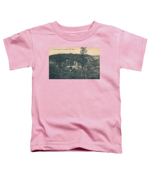 Dyckman Street At Turn Of The Century Toddler T-Shirt by Cole Thompson