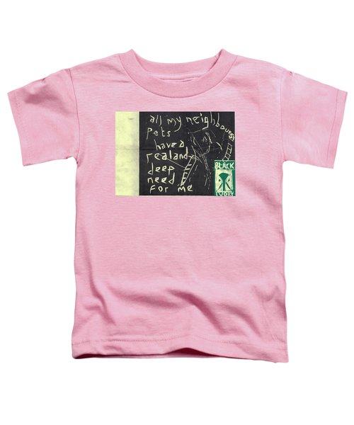 E Cd Main Reverse Toddler T-Shirt