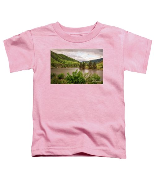 Early Morning Smoothy Waterscape Art By Kaylyn Franks  Toddler T-Shirt